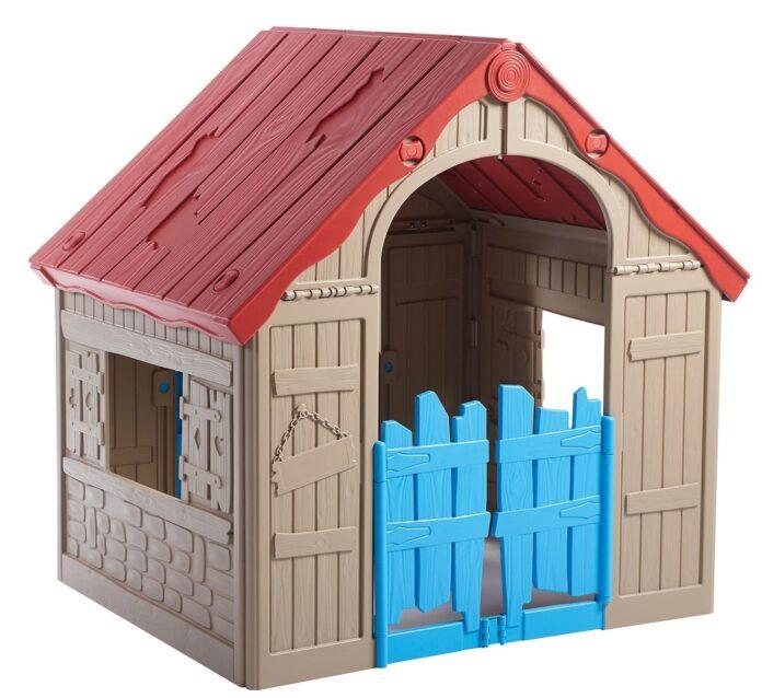 jaki domek kupić dziecku do ogrodu?